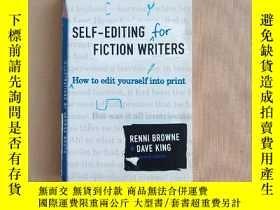 二手書博民逛書店Self-Editing罕見for Fiction Writers: How to Edit Yourself i
