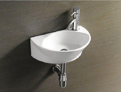 【麗室衛浴】殺很大 小空間的福利 面盆 HY-3046 套餐組合