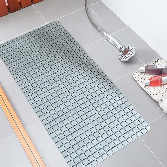 防滑墊 地墊 浴室 廁所 腳踏墊 北歐風 洗澡 老人小孩 安全  印花PVC防滑墊【W81】米菈生活館