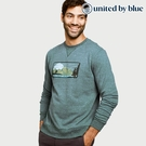 United by Blue 男起球圓領長袖上衣 101-106 Sun Mountain Pullover / 城市綠洲 (有機棉、環保、長袖T)