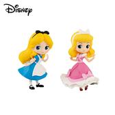【日本正版】Q posket Petit  愛麗絲 仙杜瑞拉 公仔 模型 灰姑娘 迪士尼 Banpresto 萬普 357288 357295