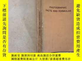 二手書博民逛書店phtographic罕見facts and formulas