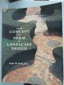 【書寶二手書T5/設計_ZBS】From Concept to Form in Landscape Design_Gra