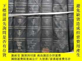 二手書博民逛書店encyclopaedia罕見britannica 3.18.4.9.10.12( 6本合售)Y6415 見圖
