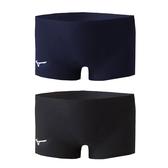 MIZUNO BASIC男四角泳褲 (免運 游泳 海邊 平口泳褲 美津濃≡排汗專家≡
