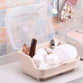 廚房置物架碗架收納盒瀝水架收納箱