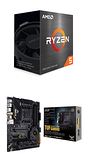 【自組DIY兩件組R56】AMD R5 5600X+華碩 TUF GAMING X570-PRO WIFI