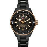 RADO 雷達 庫克船長高科技陶瓷鏤空機械錶-43mm R32127162