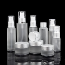 高檔化妝品分裝瓶玻璃噴霧瓶細霧按壓乳液洗發水分裝瓶旅行便攜   koko時裝店