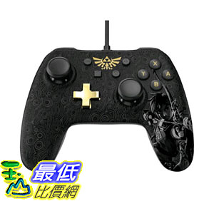 [107美國直購] 有線控制器 Wired Controller Plus for Nintendo Switch - Zelda: Breath of the Wild