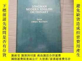 二手書博民逛書店LONGMAN罕見modern english dictiona