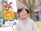 卡通風車創意diy手工戶外兒童3個裝