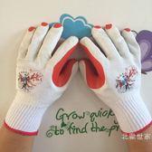 12雙勞保手套浸掛膠片膠皮手套耐磨耐用工人防護促銷大降價!