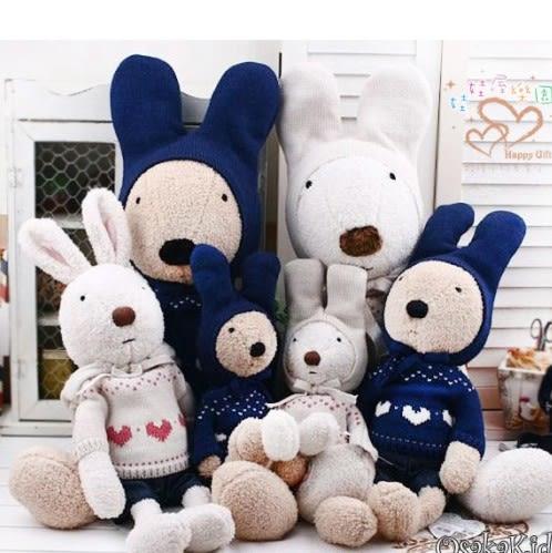娃娃屋樂園~Le Sucre法國兔砂糖兔(日本甜心款)45cm450元另有30cm60cm90cm120cm