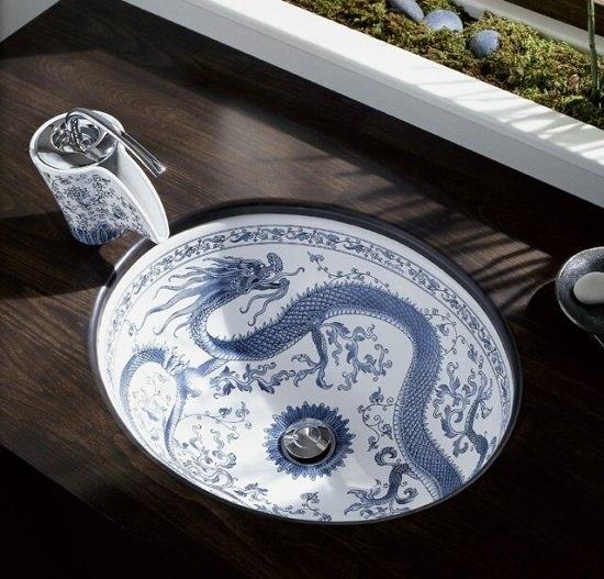 【麗室衛浴】美國 KOHLER Imperial Blue™ Vas下崁盆 K-14218-VB