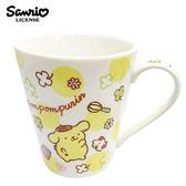 【日本正版】布丁狗 陶瓷 馬克杯 250ml 咖啡杯 Pom Pom Purin 三麗鷗 Sanrio - 076376