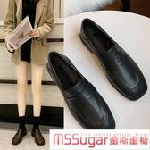 小皮鞋 兩穿小皮鞋女簡約百搭平底工作女鞋2020秋冬爆款英倫復古單鞋