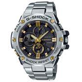 CASIO G-SHOCK/G-STEEL系列智慧藍牙連線運動腕錶/GST-B100D-1A9