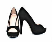 GLAZE 素面百搭高底台魚口高跟鞋-2色『黑色下標區』