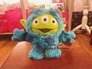 Yvonne MJA* 美國迪士尼Disney 限定正品 玩具總動員 三眼怪 Sulley 毛怪造型 限量版毛絨 娃娃