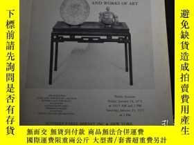 二手書博民逛書店【包罕見】Chinese Furniture and Works