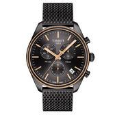 【僾瑪精品】TISSOT天梭 PR100  經典米蘭帶計時手錶/41mm/T1014172306100