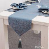 桌巾 床旗床尾巾北歐桌旗現代簡約美式茶幾電視櫃蓋布餐桌旗布長條桌布 新品