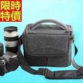 相機包-多功能防水防震帆布肩背攝影包4色68ab25【時尚巴黎】