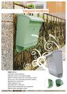 戶外信箱MBW-2014雅緻型郵報信箱【WuKon】歐式信箱