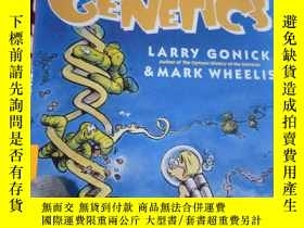 二手書博民逛書店The罕見Cartoon Guide to Genetics卡通