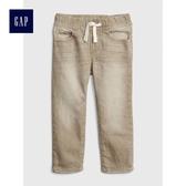 Gap男嬰幼童 鬆緊腰彈力修身牛仔褲 419205-卡其色