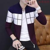 【YPRA】男士外套夾克修身開衫棒球服