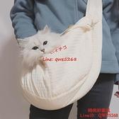 貓包外出便攜包背貓袋斜挎外出包狗包貓書包狗狗背包貓咪【時尚好家風】