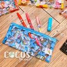 正版 迪士尼 星際寶貝 史迪奇 ㄚ醜 透明收納袋 筆袋 收納包 COCOS DK600