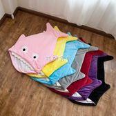 推車睡袋 卡通鯊魚睡袋 嬰兒外出推車寶寶抱被 新生兒春夏秋冬四季防踢被 珍妮寶貝