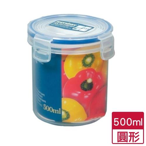 天廚圓型保鮮盒500ml【愛買】