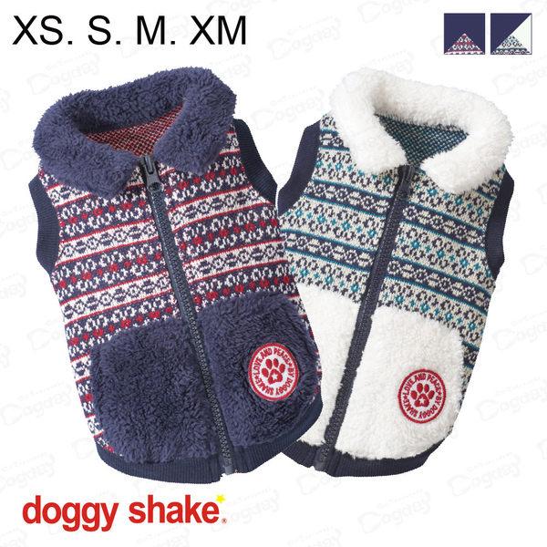 日本《Doggy Shake》島嶼背心 XS/S/M/XM 狗狗暖衣 狗衣服 冬衣