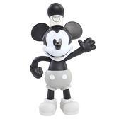 Disney 迪士尼 米奇90週年 6吋造型公仔 黑白米奇 【鯊玩具Toy Shark】