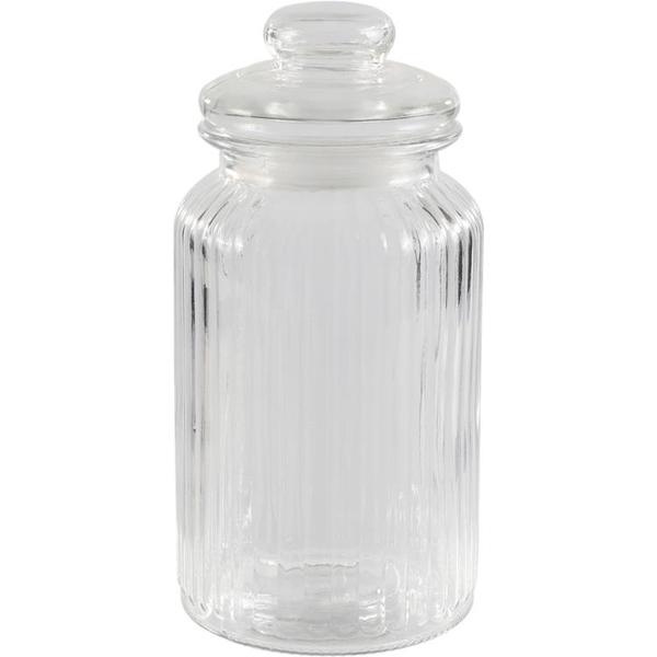 玻璃密封罐果醬茶葉罐泡菜物罐【櫻田川島】