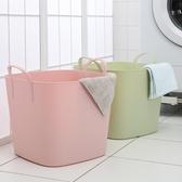 北歐塑料臟衣籃臟衣服收納筐裝衣物籃子洗衣服簍筐防水家用簡約大 WJ百分百