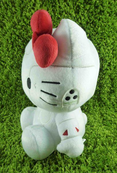 【震撼精品百貨】Hello Kitty 凱蒂貓~絨毛娃娃-未來