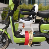 電瓶車寶寶座椅前置電動摩托車自行車踏板車嬰兒小孩兒童座椅減震☌zakka