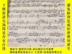 二手書博民逛書店mozart罕見nineteen sonatas for the