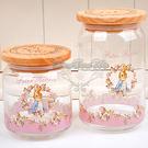 彼得兔木蓋密封罐儲物罐玫瑰花系列大210255通販屋