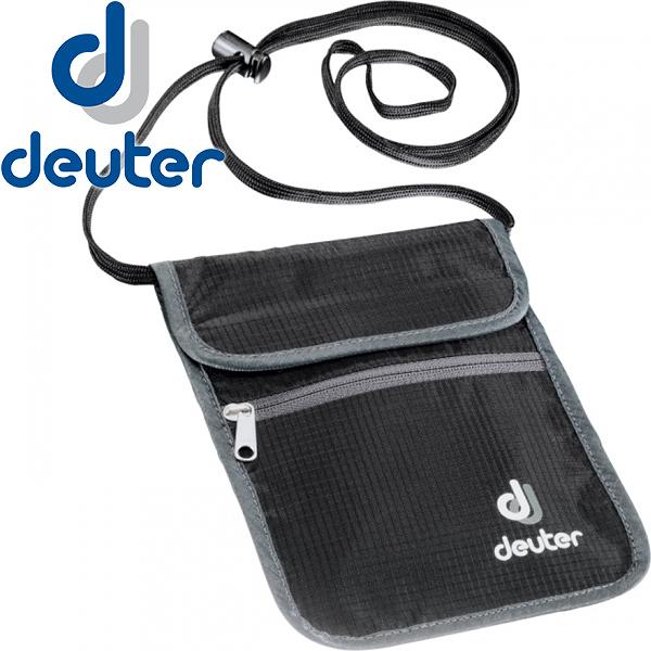 Deuter 3942116-黑色 Security Walle 隱藏式錢包 東山戶外