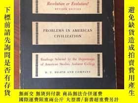 二手書博民逛書店the罕見new deal ,revolution or evolutionY253406 出版1959
