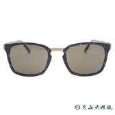 MONTBLANC 萬寶龍眼鏡 MB591SF 52E (霧琥珀) 休閒圓框 太陽眼鏡 蔡司鏡片 久必大眼鏡