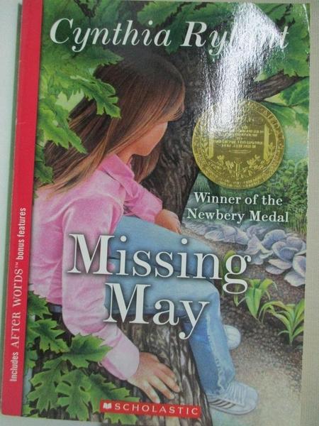 【書寶二手書T3/原文小說_GFA】Missing May_Rylant, Cynthia