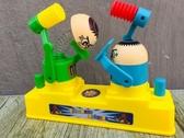 玩具互动桌游抖音同款兒童小人親子攻守對戰雙人小玩具互動桌游小黃人對打頭機 交換禮物