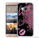 ✿ 3C膜露露 ✿【紫黑愛心*硬殼】HTC ONE ME手機殼 手機套 保護套 保護殼